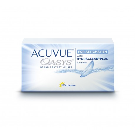 Acuvue Oasys for Astigmatism with Hydraclear 6pk