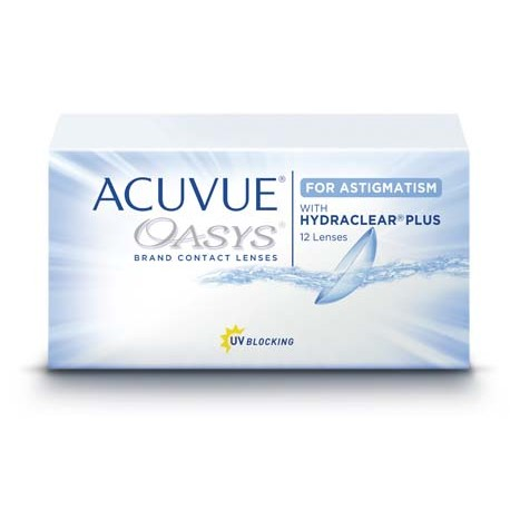 Acuvue Oasys for Astigmatism with Hydraclear 12pk