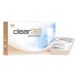 Clear 38 6pk